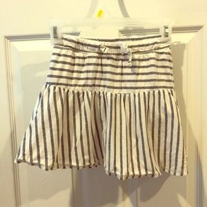 Cat & Jack skirt with built in shorts, M 7/8